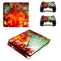 Painted plant ps4 slim skin decal for console and controllers - $15.00