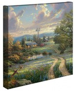 Thomas Kinkade Country Living 14 x 14 Gallery Wrapped Canvas - $89.00