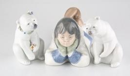 Lladro Nao Inuit Eskimo Girl #1298 - $74.25