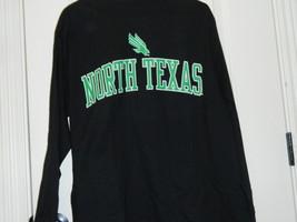 North Texas University Mean Green NCAA Ouray Black Shirt Men Size Small NWT - $14.20