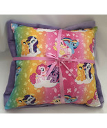 My Little Pony Pillow And Blanket MLP Bright Pony Pillow Brony , Rainbow... - $19.99
