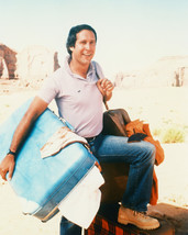 Chevy Chase Color 16x20 Canvas National Lampoon's Vacation carrying luggage - $69.99