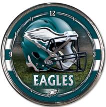 "WinCraft NFL Chrome Clock, 12"" x 12"" - $38.95"
