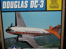 Ertl USAF  Military Air Transport Service DC-3 C-47 Airplane NIB-FREE SH... - $50.00
