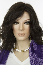 Scarlett 4 Brunette Medium Lace Front Jon Renau Wavy Straight Wigs - $191.19