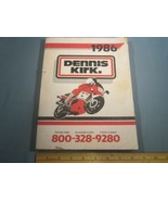 1986 DENNIS KIRK Motorcycle Parts & Asseccories Catalog [142c] - $36.48