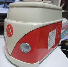 Volkswagen VW Toaster Red BOX Original Mini bus Le Very RARE New - $166.32