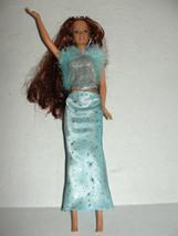 Movie Star Teresa Barbie Doll Red Auburn Hair Day To Night Transforming ... - $12.99