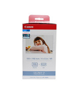 Canon Color Ink Cassette + 4R Paper Set (108 Sheets) (for CP1200), KP-108IN - $48.99