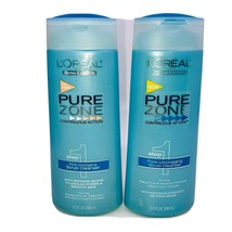 2 - L'OREAL Paris Dermo-Expertise Pure Zone Step 1 SCRUB Cleanser 6.7oz RARE - $74.00