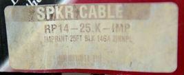 Rapco International RP1425KIMP Speaker Cable Imprint 25 Feet Black 14 Gauge image 4