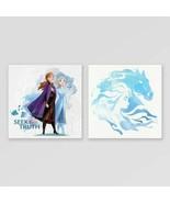 Disney FrozenII 2 Piece Canvas Set Seek The Truth - $14.68