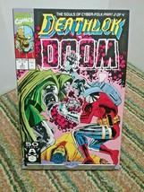 Deathlok Vs DOOM Marvel Comics Issue 3 September 1991 - $1.25