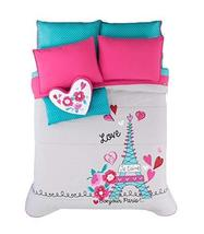 Jorge'S Home Fashion New Pretty Collection Paris Chic Eiffel Tower French Teens - $256.41
