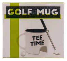 NPW Golf Mug Gift Set Tee Time Cup Club Pen Ball Coffee Tea Gift image 6