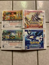POKEMON ALPHA SAPPHIRE  3DS  (**NO GAME**) Replacement Case - $12.00