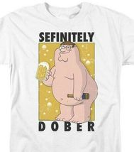 "Family Guy t-shirt ""Sefinitely Dober"" Peter Griffin comedy tv graphic tee TCF525 image 3"