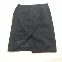Banana Republic 100 % Wool Pencil Skirt Womens Black Pockets 2 XS Small image 2