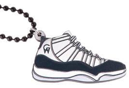 Good Wood Nyc Concord 3.4ms Sneaker Halskette Weiß/Schwarz Xi Schuhe Kicks