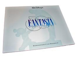 An item in the Entertainment Memorabilia category: 1990 FANTASIA 50th Anniversary Commemorative Program Walt Disney Large Color 3