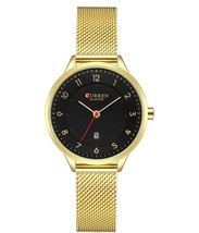 Curren Fashion women's watches Stainless Steel Gold watch women Curren Hot Selli - $33.56