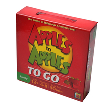 Apples to Apples To Go The Game of Hilarious Comparisons Travel Edition - £9.45 GBP