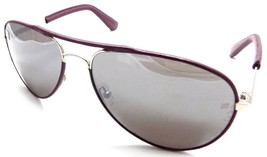 Unofficial Sunglasses Aviator UN01 Purple Frame 60x20x130 Purple Mirrore... - $20.17