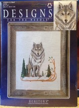 "Designs for the Needle Wolf Loup Counted Cross Stitch 8"" x 10"" Janlynn H... - $9.89"