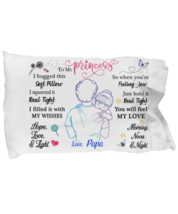 To My Granddaughter Pillowcase Gift From Papa Pillow case Covering For  - $23.99