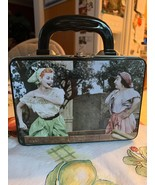 I Love Lucy 2 Sided Metal Tin Lunch Box Stomping Grapes & Vitameatavegam... - $29.99