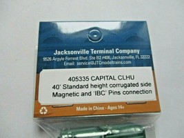 Jacksonville Terminal Company #405335 Capital  40' Standard Containers N-Scale image 2