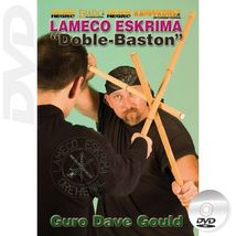 Edgar Sulite Lameco Eskrima Doble Baston filipino stick fighting DVDDave... - $28.00