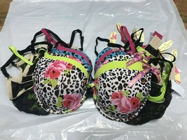 6 bras size 38C, Very Nice &  Comfy Push-Up Bras, $180 VALUE (158103) - $26.03