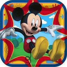 Mickey Mouse Fun and Friends Birthday Party Lunch Dinner Plates 8 Count New - $4.90
