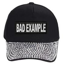Bad Example Hat Style Cap Color Options (Rhinestone) - $18.95