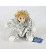 "Classic Treasures Clown Doll Zandra 8"" - $14.84"