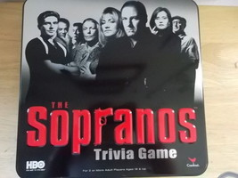 The Sopranos Trivia Game Brand New in Tin - $14.95