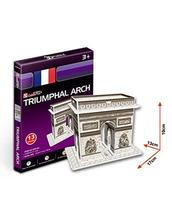PANDA SUPERSTORE The Arc DE Triomphe Three-Dimensional Building of Manual Assemb