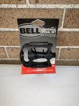 "Bell Kicks 350 Universal Bike Pedal Set Fits 1/2""- 9/16"" Black - $9.99"
