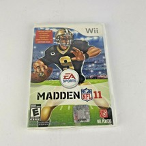 Madden NFL 11 Nintendo Wii 2010 Complete Game Tested - $7.49