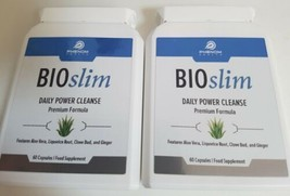 BIOSLIM DAILY POWER CLEANSE X 2 :-Body Detoxing Formula/Slimming - $394.64