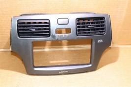 02-06 Lexus ES300 ES330 Air Vents Dash Navigation Radio Trim Bezel Mark Levinson image 2