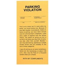 Fake Parking Tickets - Pad of 25 by BWacky - $6.89