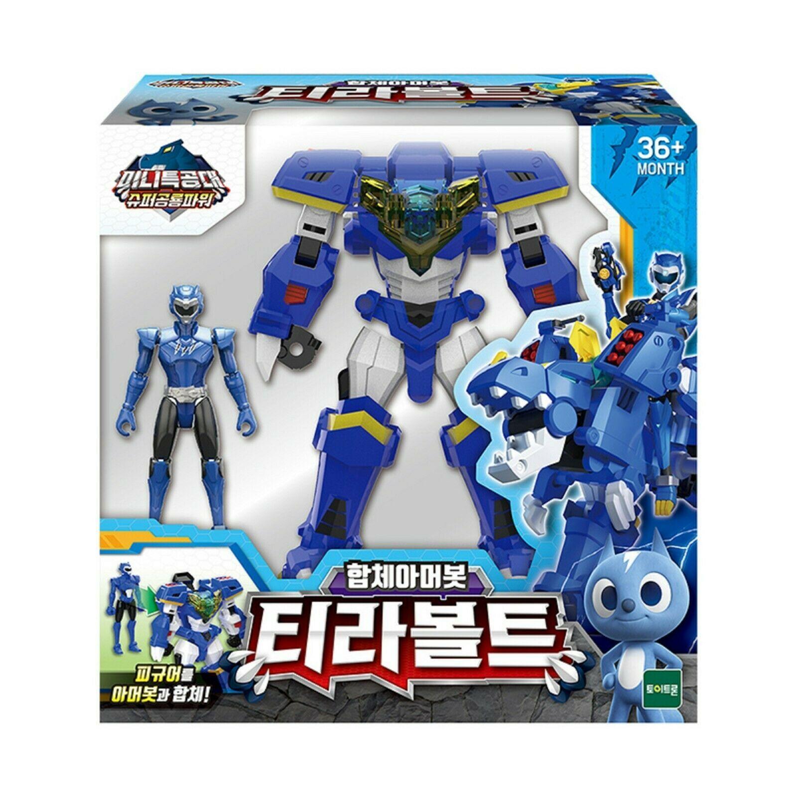 Miniforce Tyra Volt Transformation Action Figure Super Dinosaur Power Part 2 Toy