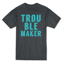 Trouble Maker Live Your Style Men's Dark Heather T-shirt - $17.81