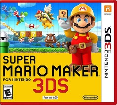 SUPER MARIO MAKER 3DS NINTENDO 2016 PLAYS ON 2DS VIDEO GAME BRAND NEW SE... - €35,37 EUR