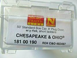 Micro-Trains # 18100190 Chesapeake & Ohio 50' Standard Box Car, N-Scale image 5