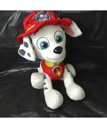 Paw Patrol Real Talking Marshall Dalmatian Dog Stuffed Plush Light Up WO... - $29.69