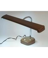 MCM COSMO Brown Floating Streamline Fluorescent Desk Lamp Tested Industr... - $98.99