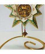 Hallmark Keepsake Ornament Silent Night Yuletide Harmony Collection 2006 - $13.10